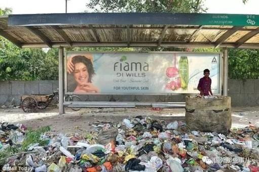印度城市垃圾泛滥 乱丢垃圾将被判刑