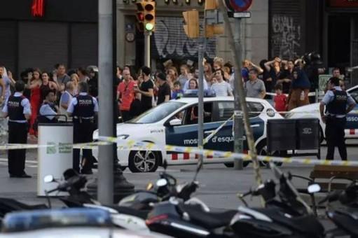 西班牙巴塞罗那遭恐袭致13人死亡