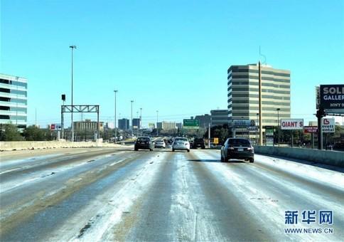 美国南部城市休斯敦气温创22年来新低