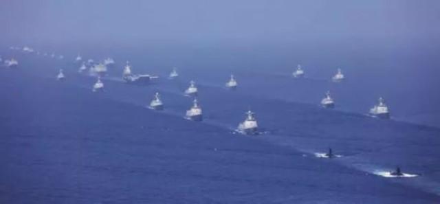 南海阅兵释放重大信号