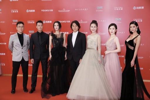 《三国杀·幻》出席上海电影节红毯