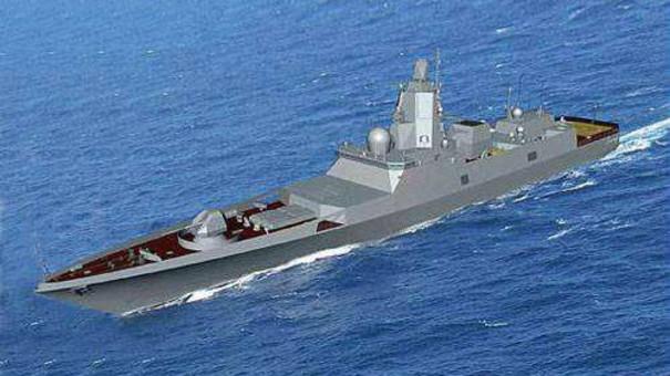 俄媒盛赞俄海军最佳护卫舰 防空系统强大