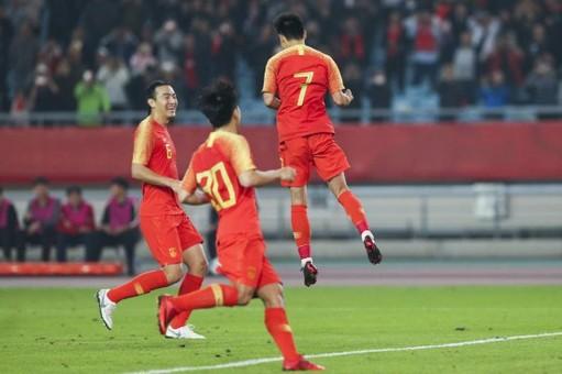 国足2-0叙利亚!