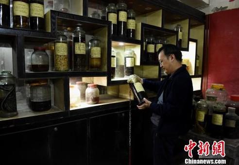 重庆民间医药博物馆 5万余件藏品展示中医文化