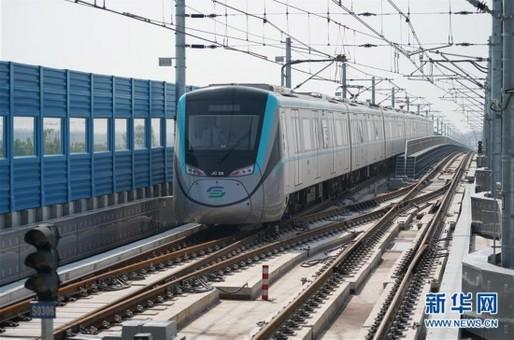 西安机场城际轨道即将开通