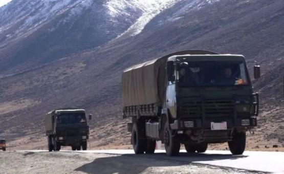 数千吨过冬物资,已运抵西藏边防!