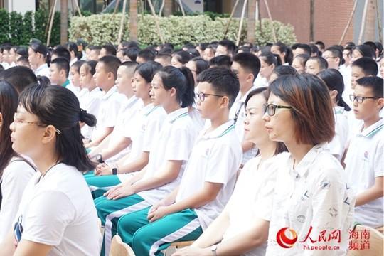 海南华侨中学美丽沙分校正式开学