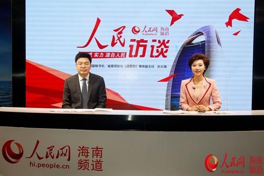 孙大海:以制度创新为核心建设海南自贸区(港)