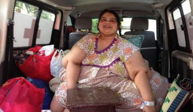 亚洲最胖女人手术减重400斤后恢复正常生活