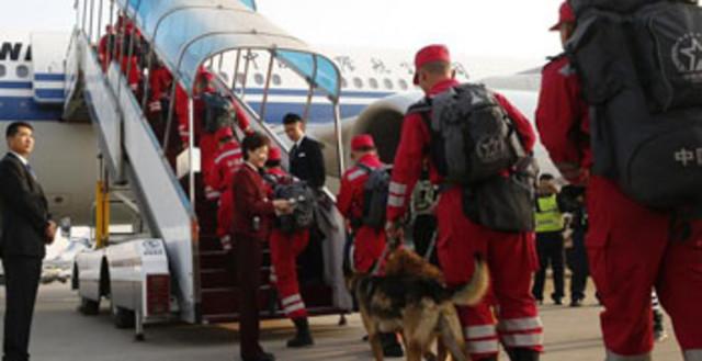 中国国际救援队奔赴尼泊尔震区