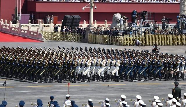 9.3大阅兵:三军仪仗队方队